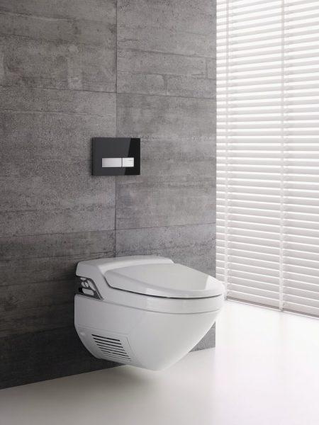 WC lavants AQUACLEAN de Geberit salle de bains