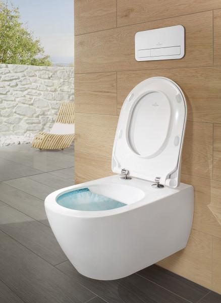 WC bride ouverte SUBWAY 2.0 de Villeroy et Boch