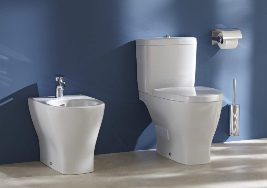 WC et bidet compacts ODEON UP de Jacob Delafon