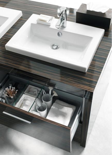 Vasque salle de bains à encastrer 2nd floor de Duravit