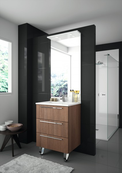 mobilier au sol dans salle de bain fiche produit. Black Bedroom Furniture Sets. Home Design Ideas