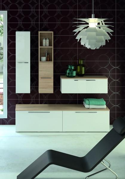 Meuble colonne de salle de bains AKIDO Ambiance Bain
