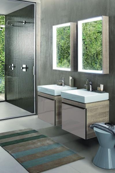 Mobilier double pour salle de bains ARUM Allia
