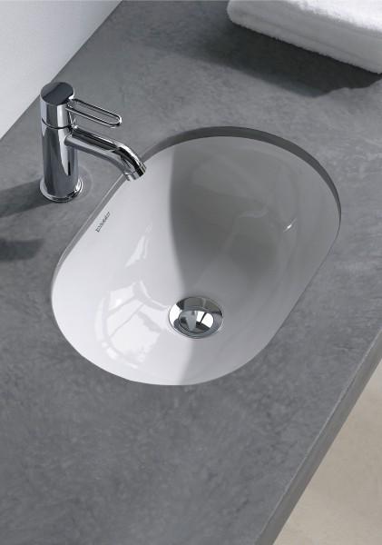 Lavabo salle de bains à encastrer Foster de Duravit