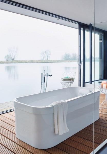 Baignoire îlot salle de bains happy D2 Duravit