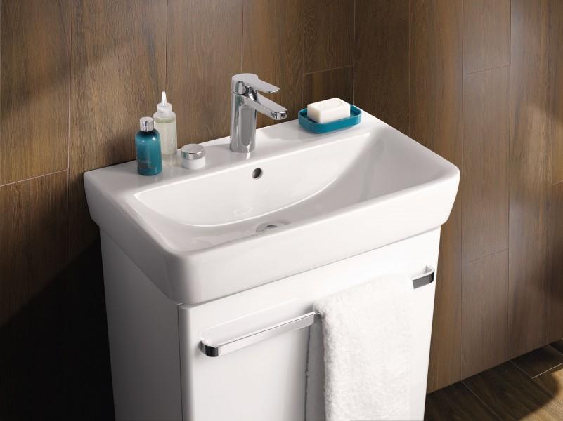 Mobilier de salle de bains faible profondeur d'Allia