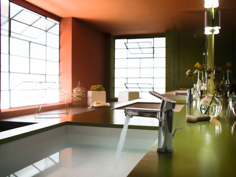 Mitigeur salle de bains ouverture à froid NEW ROAD ECO Nobili