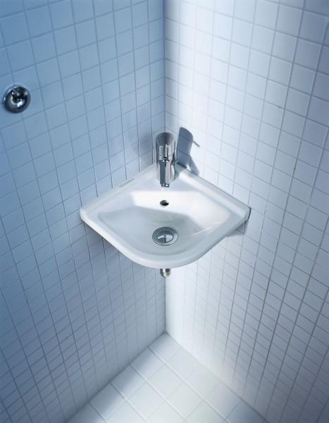 Lave mains d'angle Starck 3 de Duravit salle de bain