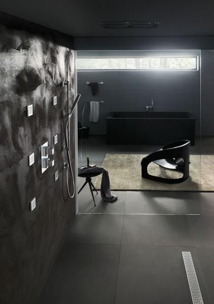 Ensemble de robinetterie salle de bains à encastrer Nobili