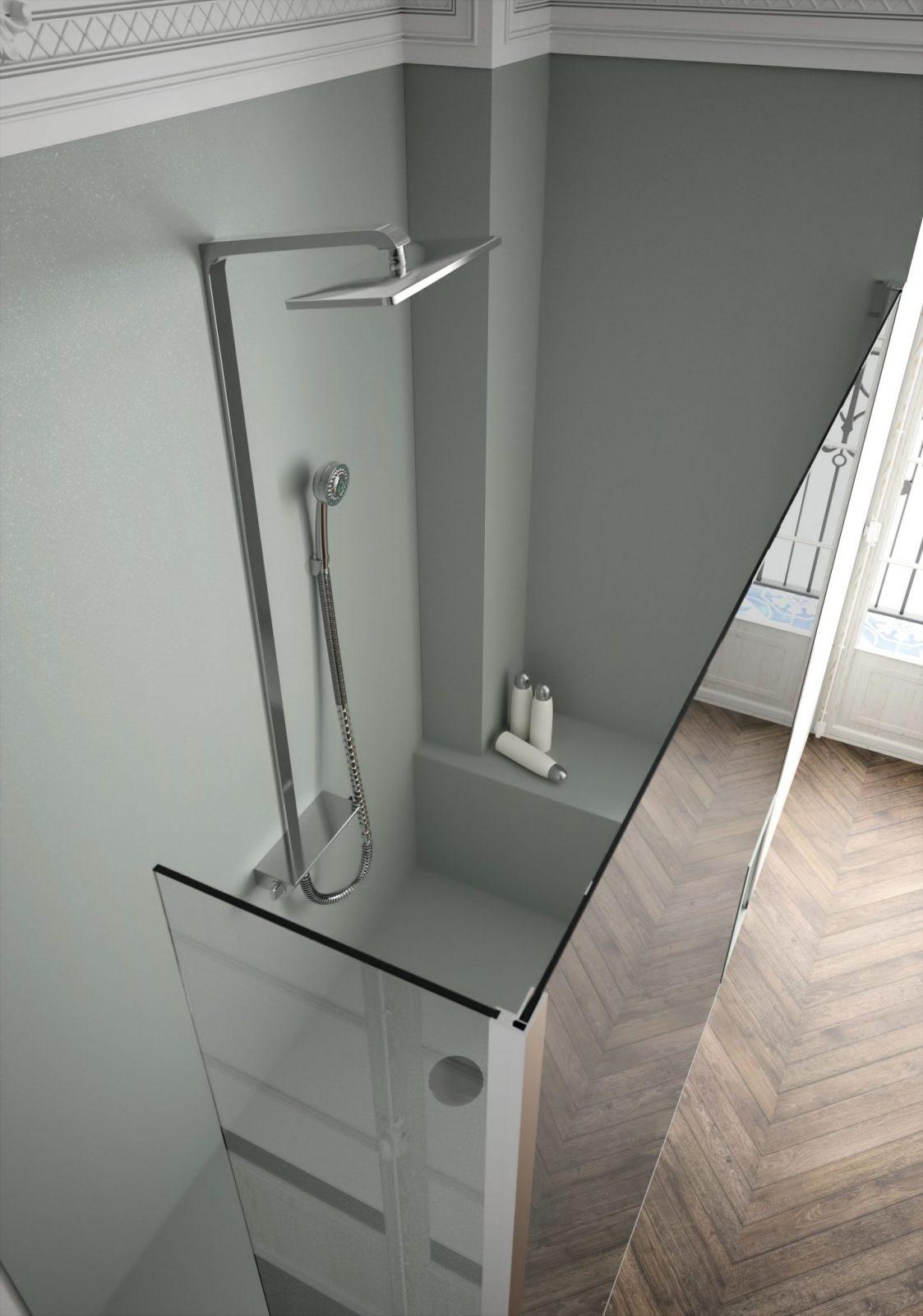 fiche produit sdb panneaux muraux fond de douche. Black Bedroom Furniture Sets. Home Design Ideas