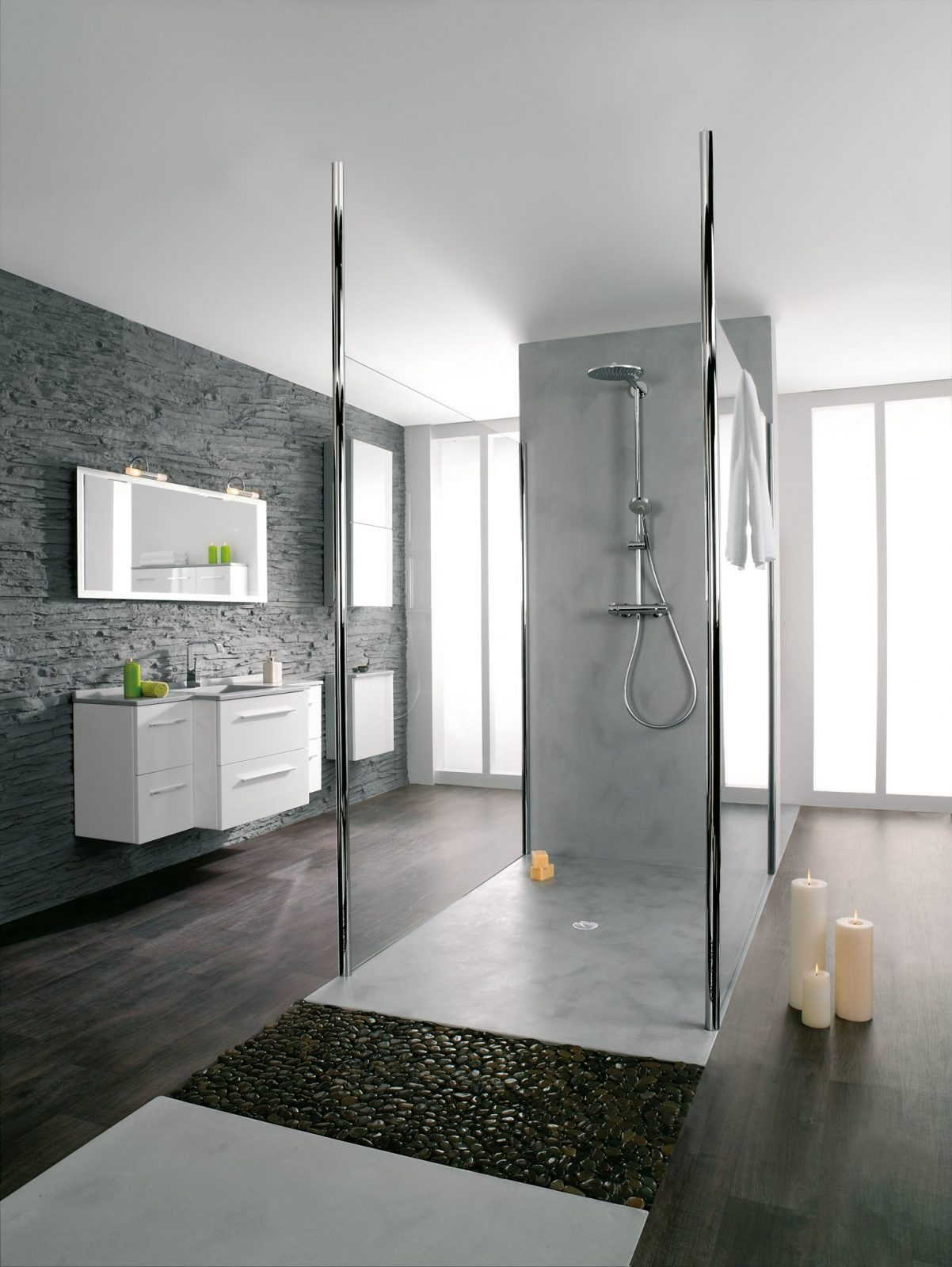 panolux salle de bain perfect les panneaux dhabillage de la salle de bain artwall dartweger. Black Bedroom Furniture Sets. Home Design Ideas