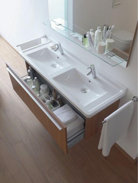 Lavabo double pour salle de bain Starck3 Duravit