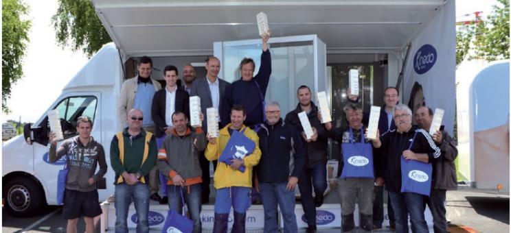L'équipe de la marque Kinedo entame son tour de France 2015