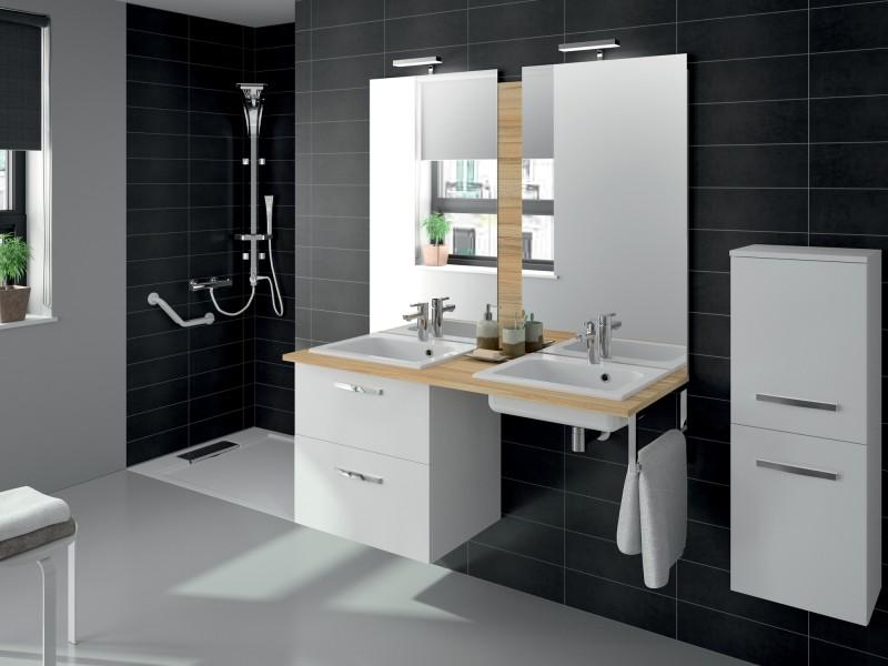 Vasque accessible de salle de bains préfixe code d'Aquamarine