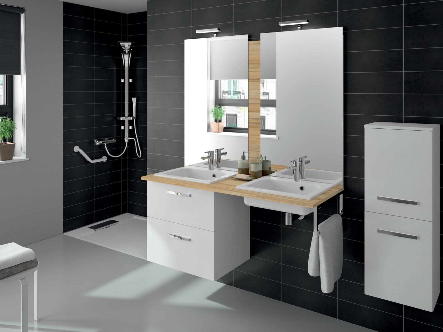 Salle De Bain Parement Baignoire ~ vasque accessible de salle de bains pr fixe code d aquamarine