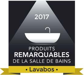 Picto produit remarquable de la salle de bains 2017, catégorie Lavabo