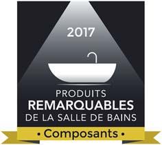 Logo Produit remarquable de la salle de bains 2017, catégorie Composants
