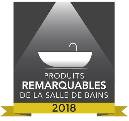 Picto des produits remarquables de la salle de bains 2018