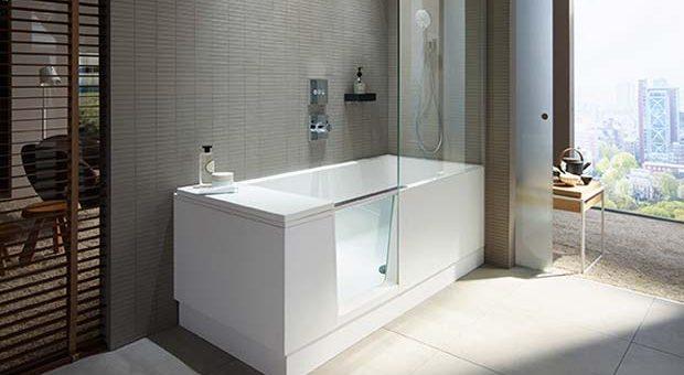 Produit remarquable 2018 baignoire douche shower bath de duravit - Baignoire douche design ...