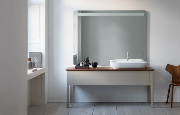 Produit remarquable 2018, meuble design Luv de Duravit