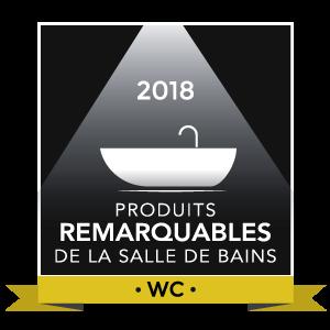 Logo Produit remarquable 2018 : WC