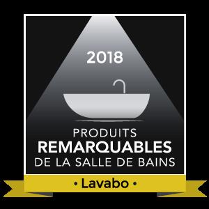 Logo produit remarquable 2018, le lavabo