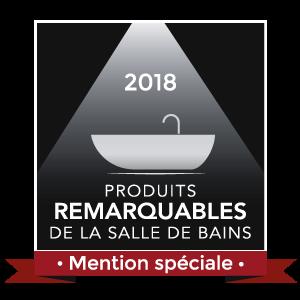 Logo mention spéciale shower+bath Duravit Produit remarquable 2018