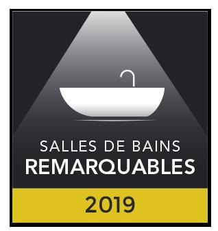 Salles de bains remarquables 2019