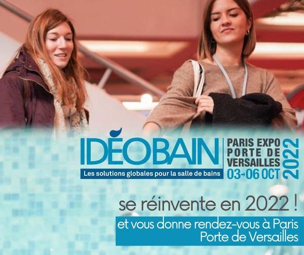 Affiche Idéobain Porte de Versailles en 2022