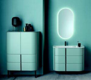 meuble de salle de bains bleu lavo 2.0 de Burgbad
